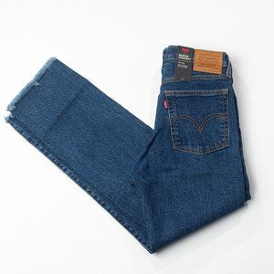 Levis Wedgie Straight Leg Jean Size 27